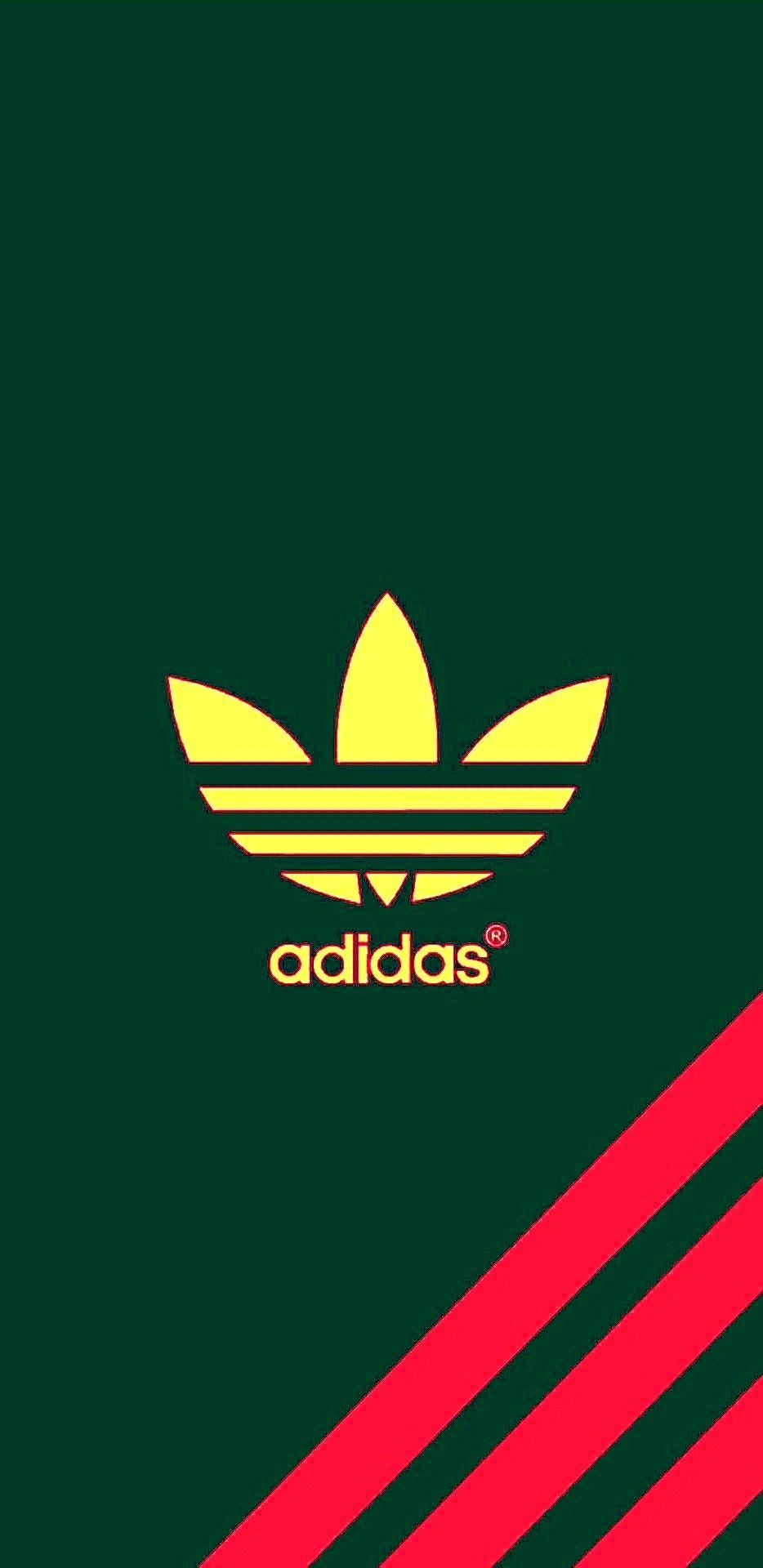 Adidas Three Stripes Iphone Wallpaper Background In Stiker Dinding Lux 5 23pr