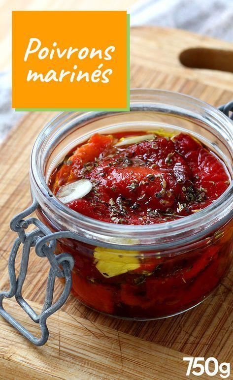 Comment faire des poivrons marin s maison recette cuisine 2 pinterest poivrons marin s - Comment cuisiner des poivrons ...