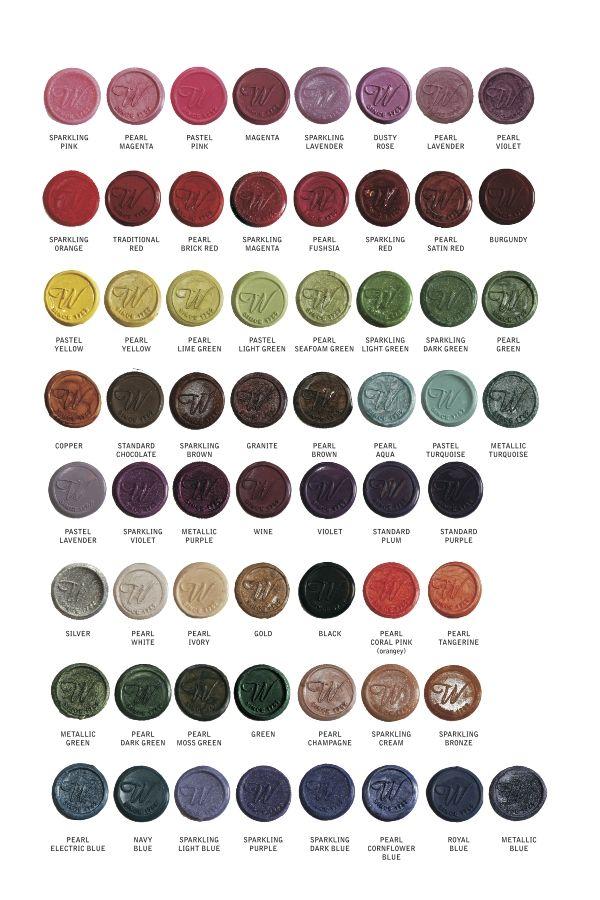 LetterSeals.com Scottish Sealing Wax