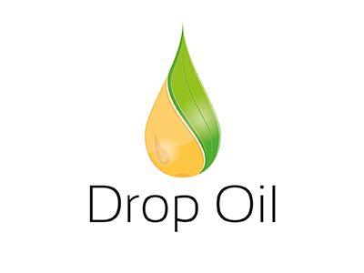 drop oil logo drops