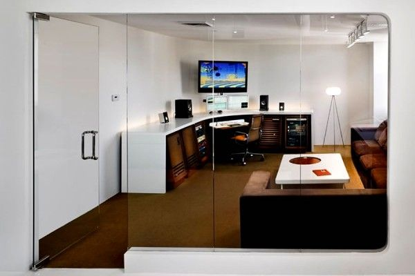 editing suite commercial office interior design um project brooklyn
