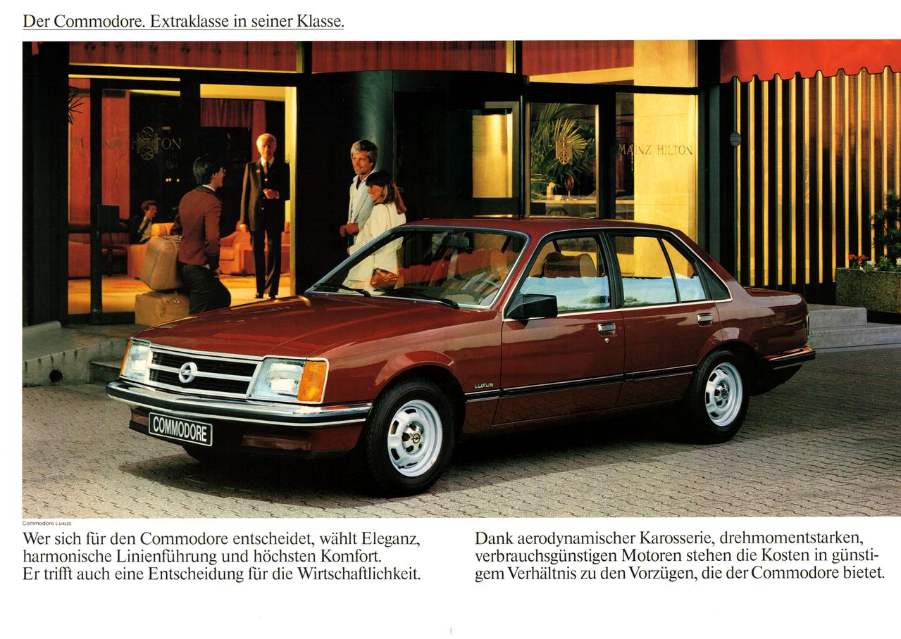 Opel Commodore Rad