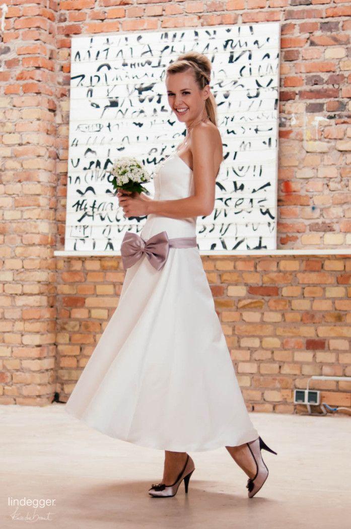 Brautkleid Küssdiebraut Audrey 7/8 Kleid 60ies | Brautkleider ...