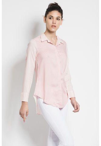 322ff38c9 Doute Y Dentupes Sans Rosa Camisa Corte Confección CxAwS7Wqz