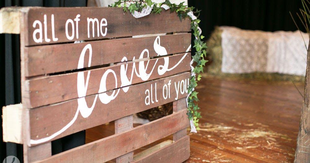 Epic DIY Hochzeit Basteln selber machen Palette beschriften Deko Garten M bel g nstig billig gro verdecken Location Holz