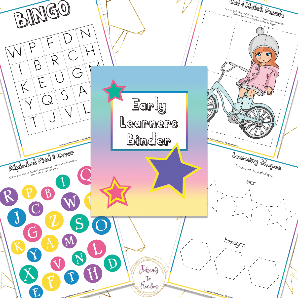 Early Learners Binder 196 Pages In