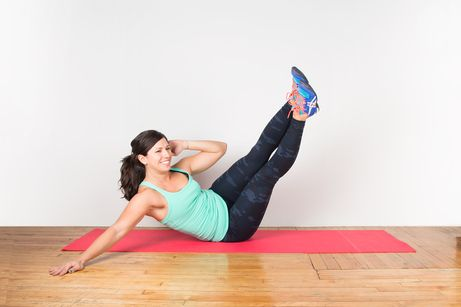 Oblique V-Up #abs #workouts #fitness