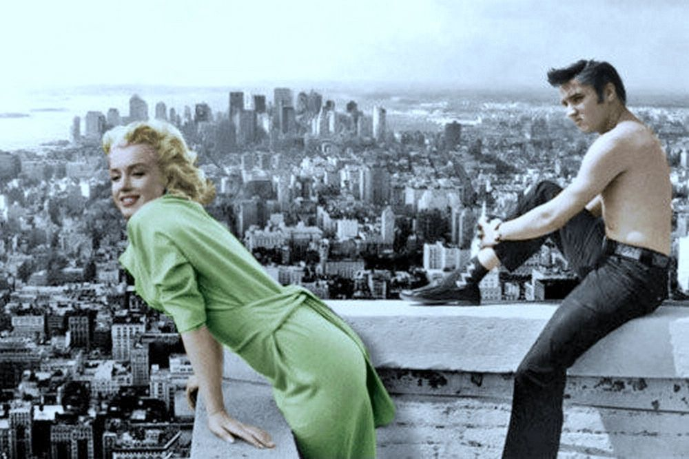 Marilyn Monroe & Elvis Presley - Fantasy Photo # 2