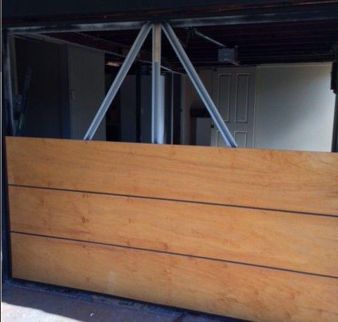 Plywood Garage Door Diy Project