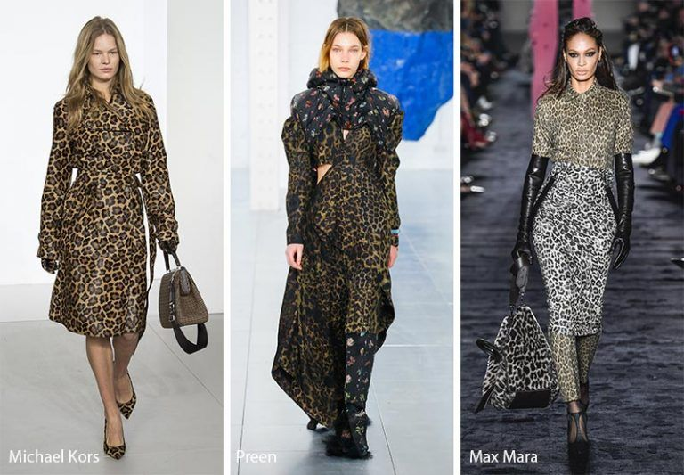 916cf3936779 Fall/ Winter 2018-2019 Print Trends: Leopard Patterns