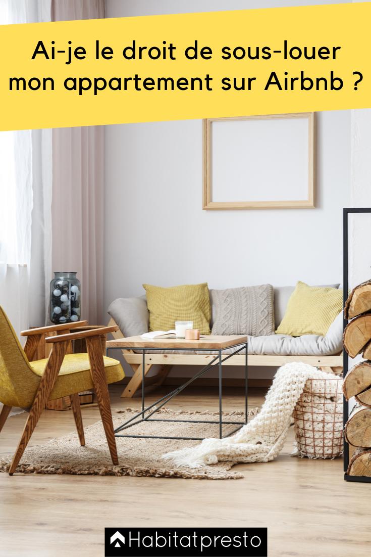 Ai Je Le Droit De Sous Louer Mon Appartement Sur Airbnb Louer Table Basse Appartement