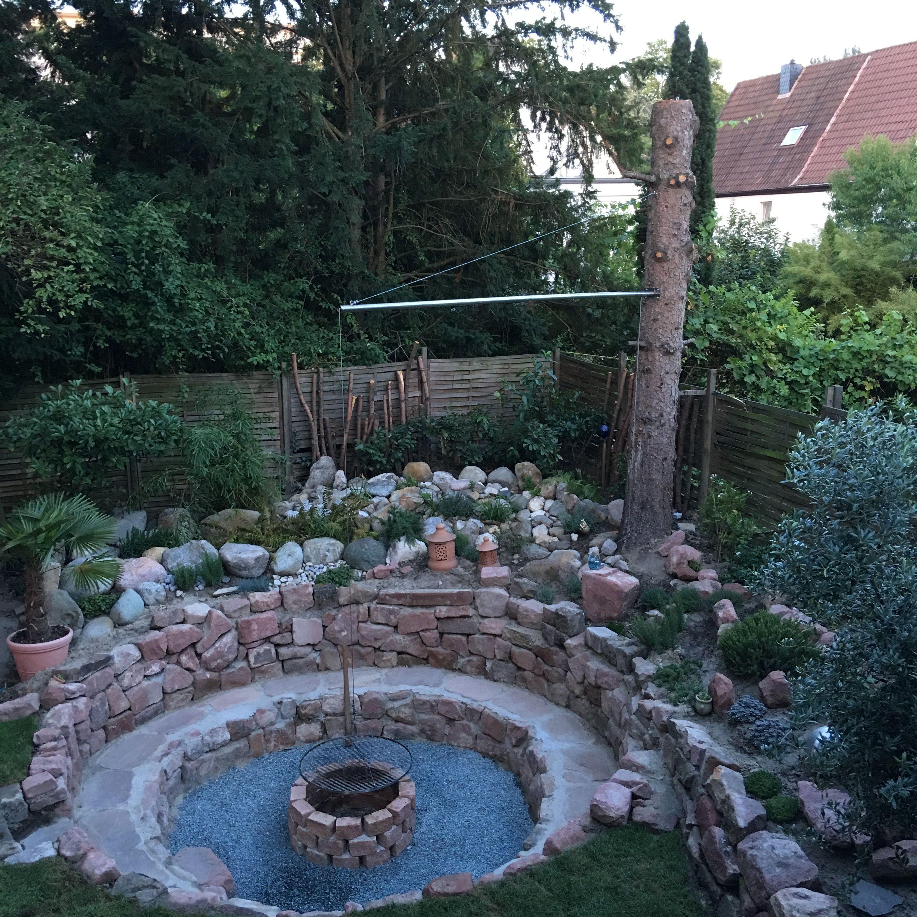 Grillplatz im Garten mit Bildern   Grillplatz im garten ...