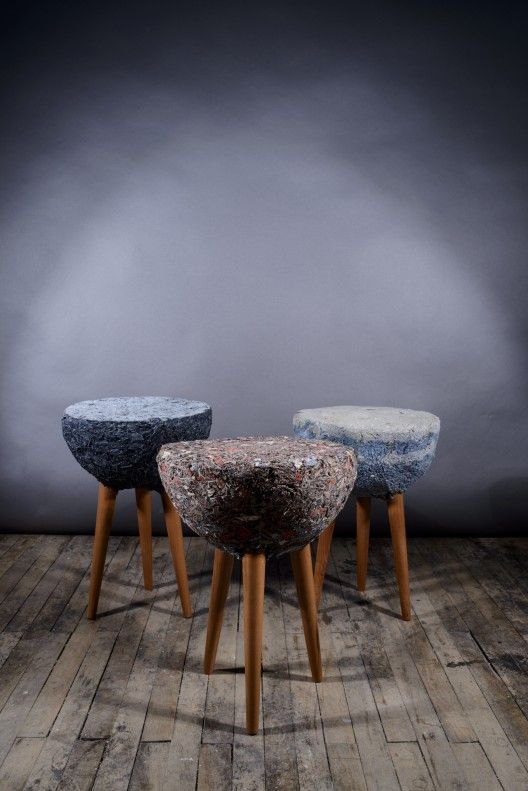 Demod muebles de material textil bernardita marambio for Muebles de diseno industrial