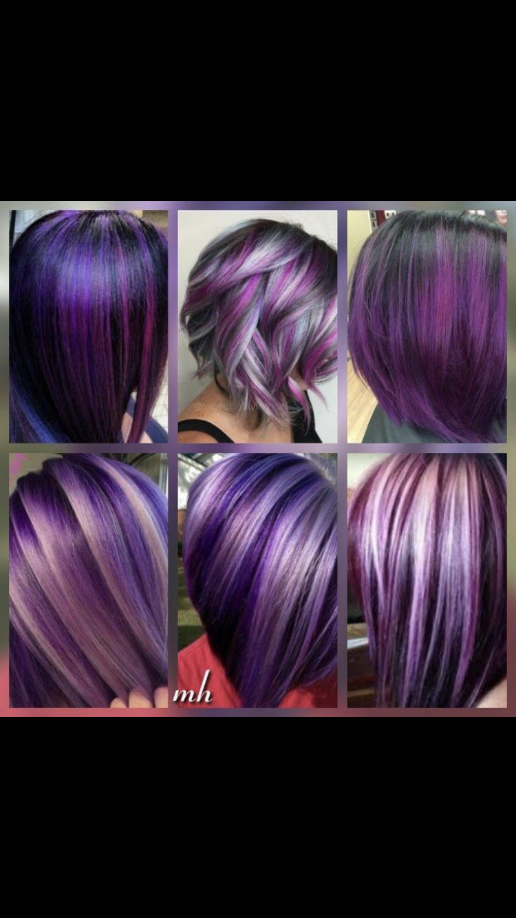 Pin by Kathie Johnson on Hair colours Hair color plum