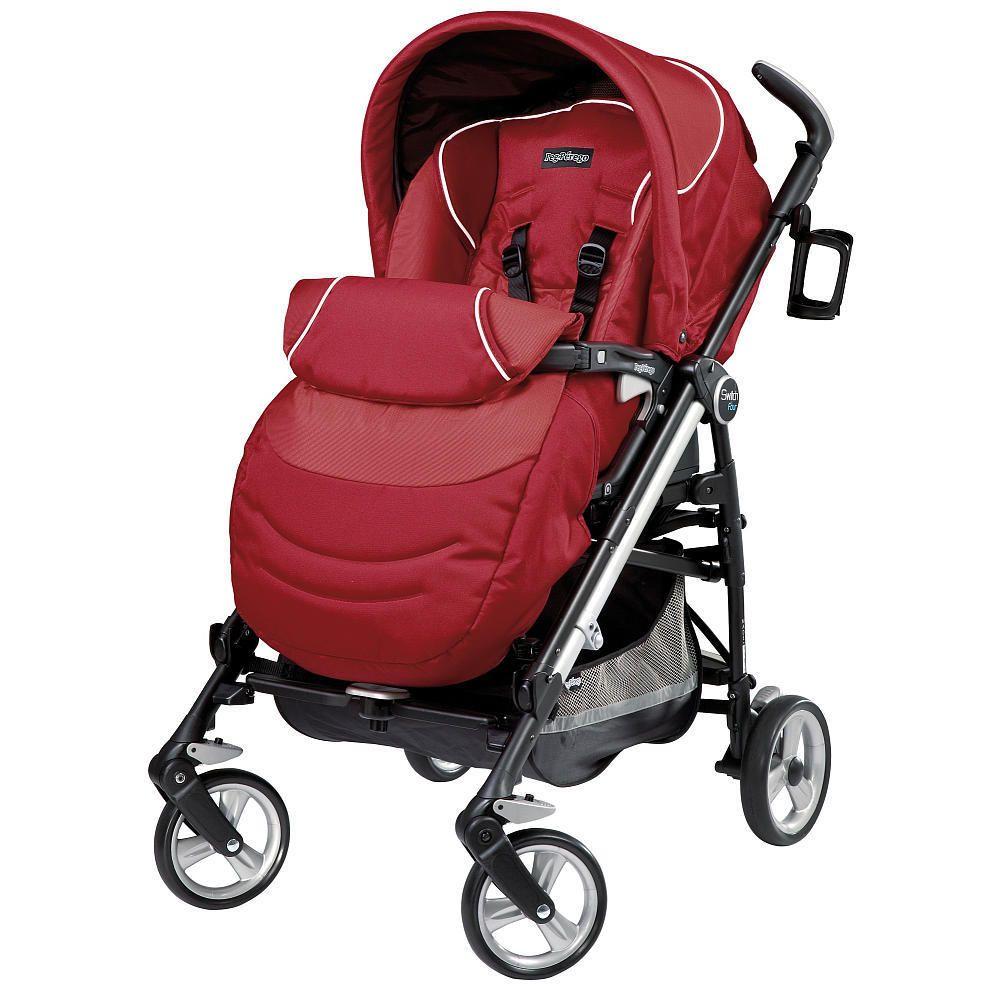 Peg Perego Switch Four Stroller - Geranium  434b70e863