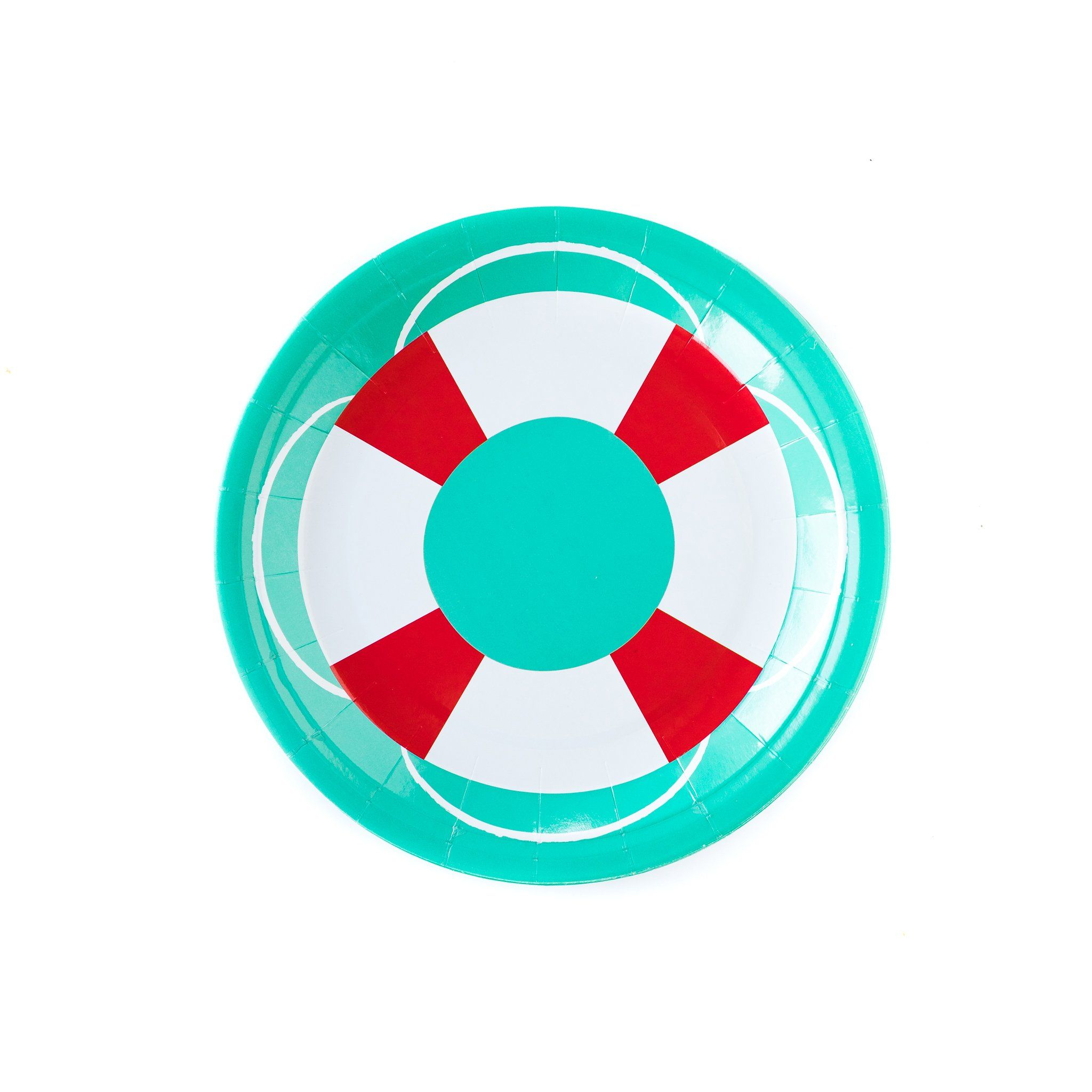 Life Saver Plates Lg Summer Pool Party Party Plates Summer