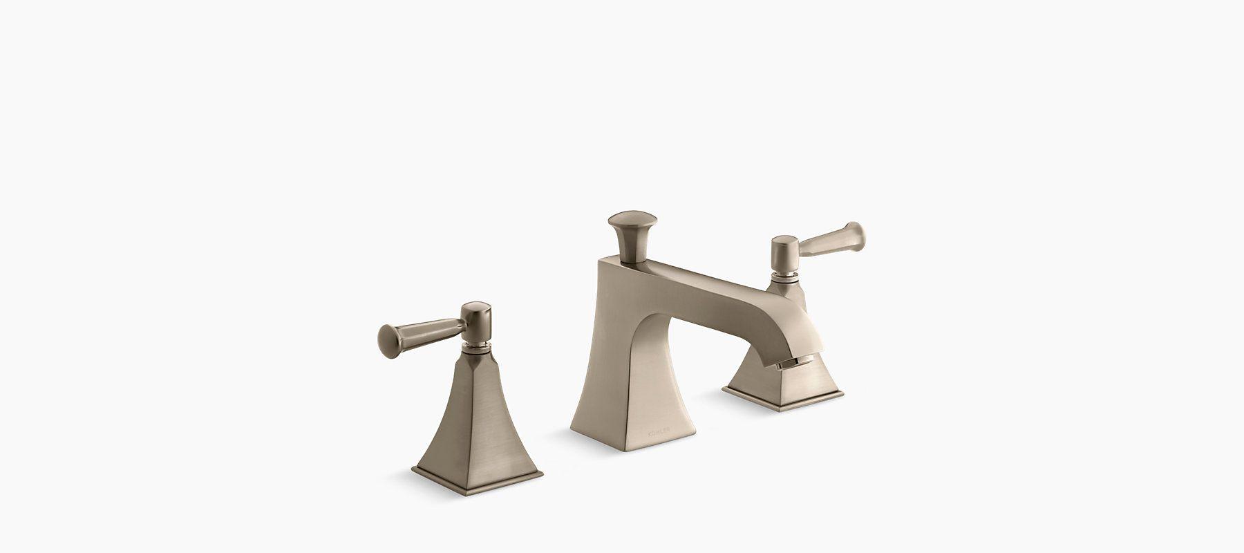 Memoirs Stately Deck-Mount High-Flow Bath Faucet Trim   K-T428-4S ...