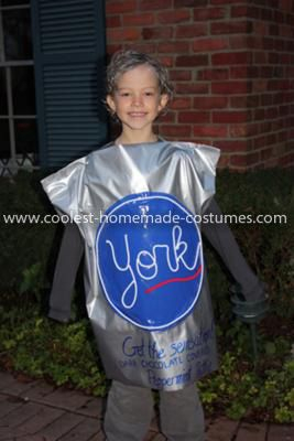 Coolest York Peppermint Pattie Costume York Peppermint Patty Peppermint Patty Costumes Candy Costumes