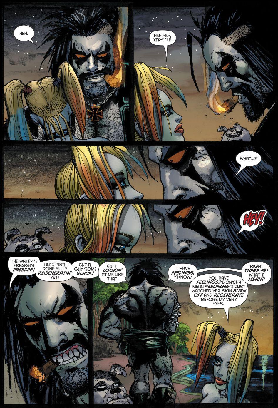 Lobo Injustice Comic