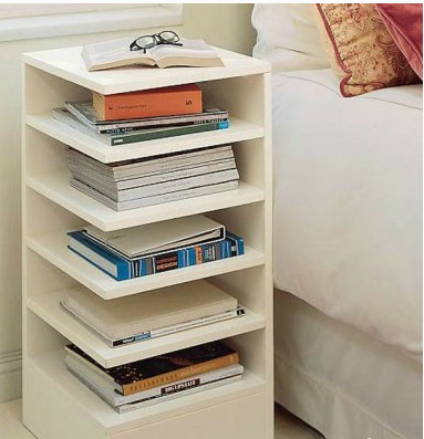 Bedside Bookshelf Bedside Bookshelf  Diy  Pinterest  Creative Bedrooms And .