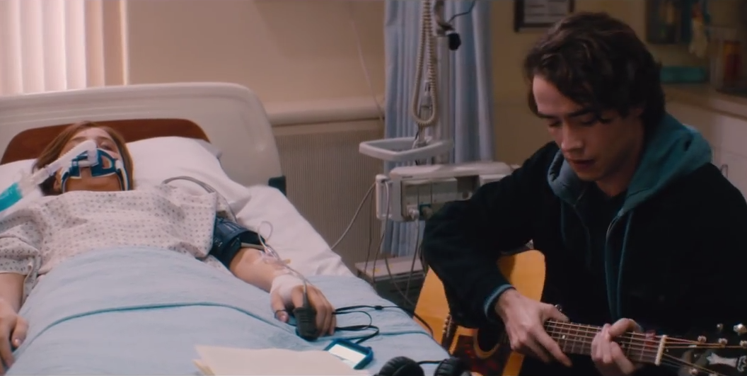 """""""You wrote me a song."""" If I Stay, in theaters August 22. I"""