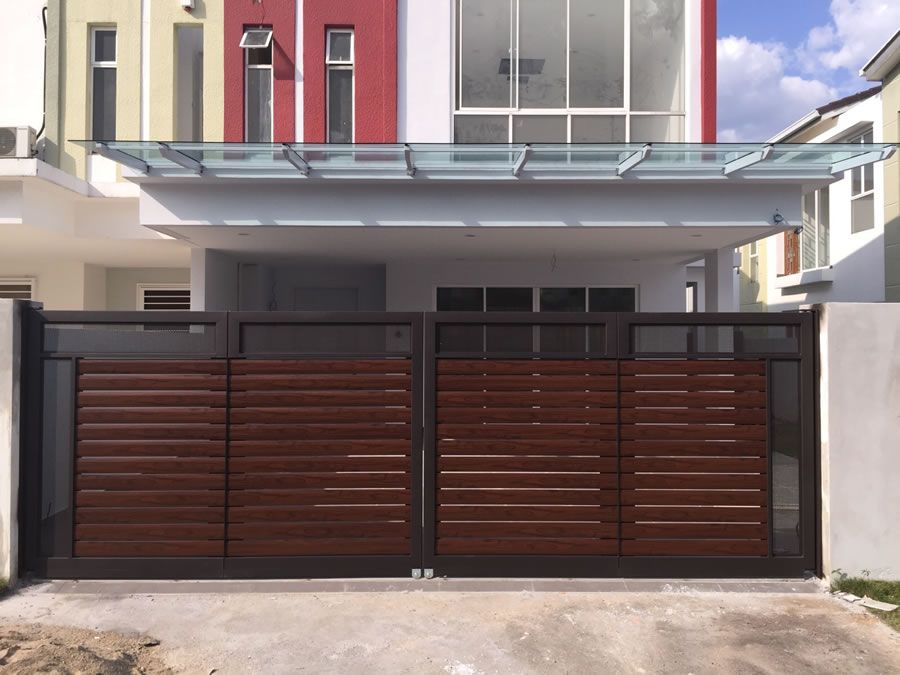 Home Design Xtreme Part - 41: Xtreme Arrow Is Specialized In Design, Manufacture And Install Automatic  Main Gate In Malaysia. We Build And Install Glass Main Gates Such As 304  Stainless ...