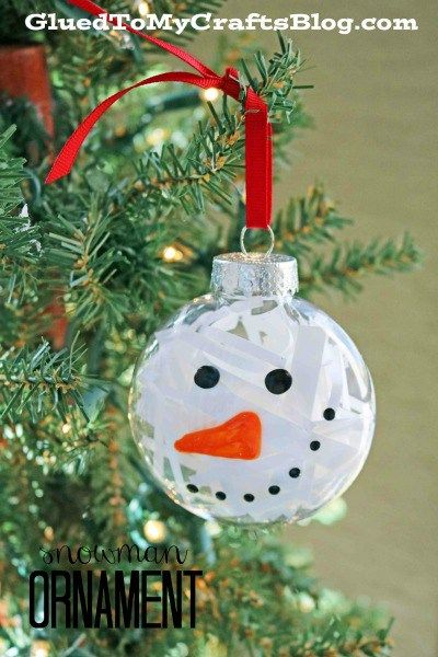 10 Fabulous And Super Easy Plastic Ornament Crafts Ornament Crafts Ornaments Diy Kids Xmas Crafts