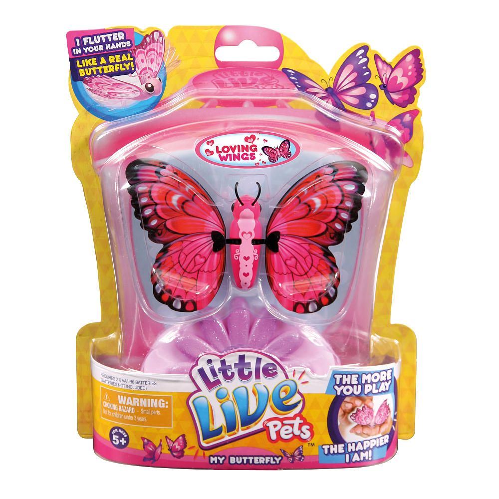 Little Live Pets Butterfly Starter Pack Love Wing