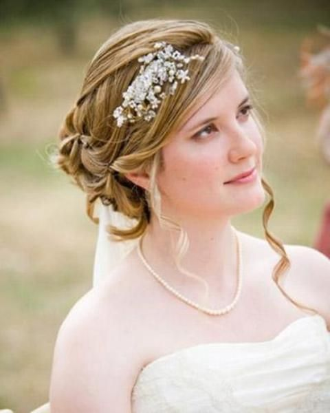 Wedding Hairstyle For Chubby Face: Wedding Hairstyle For Round Face - Google Search