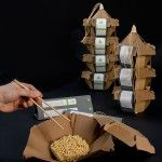 簡單易攜的食物包裝設計