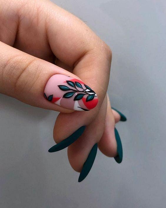 Spring nails 2020 dip short
