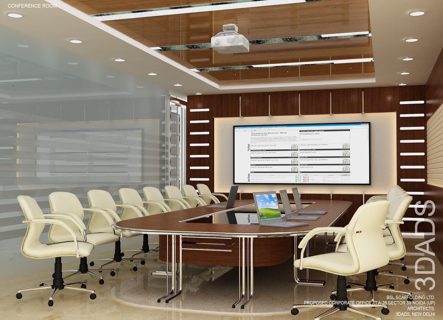 Modern office conference meeting room interior design by da best designers in also daarchitects on pinterest rh