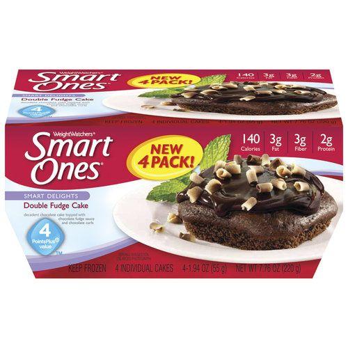 Weight Watchers Smart Ones Smart Delights Double Fudge Cake 194 Oz