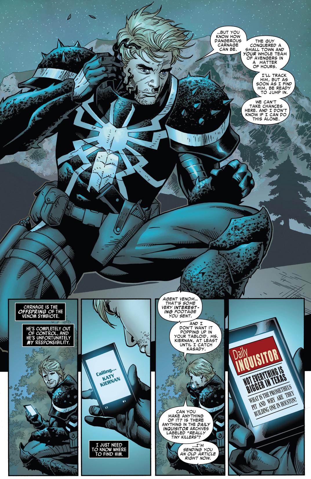 Minimum Carnage: Alpha #1 | Flash Thompson Venom | Flash