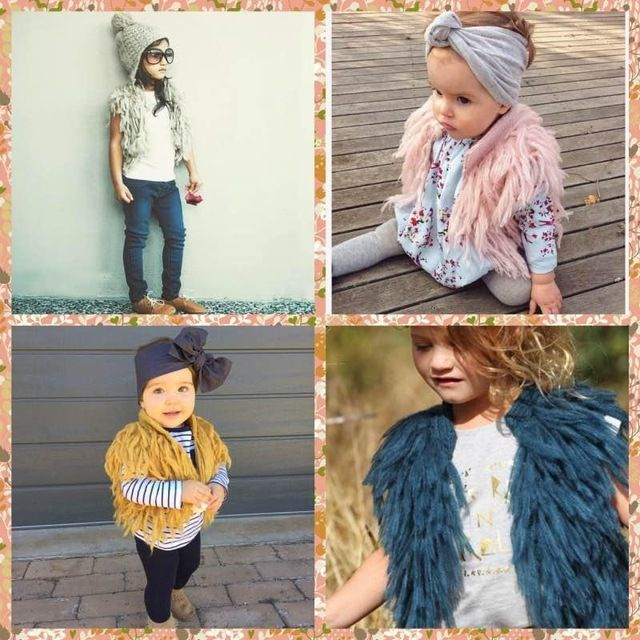 bbcd44bafeeb New Arrival Babies Children Tassels Cardigans Knitting Vests Candy ...