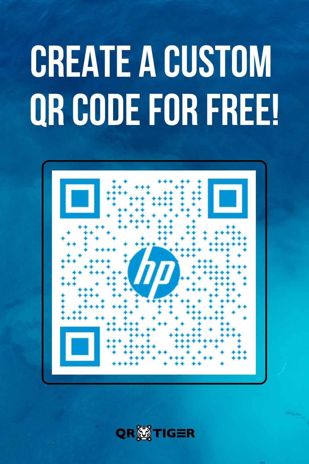HP Electronic Inspired QR Code A Free QR Code Generator