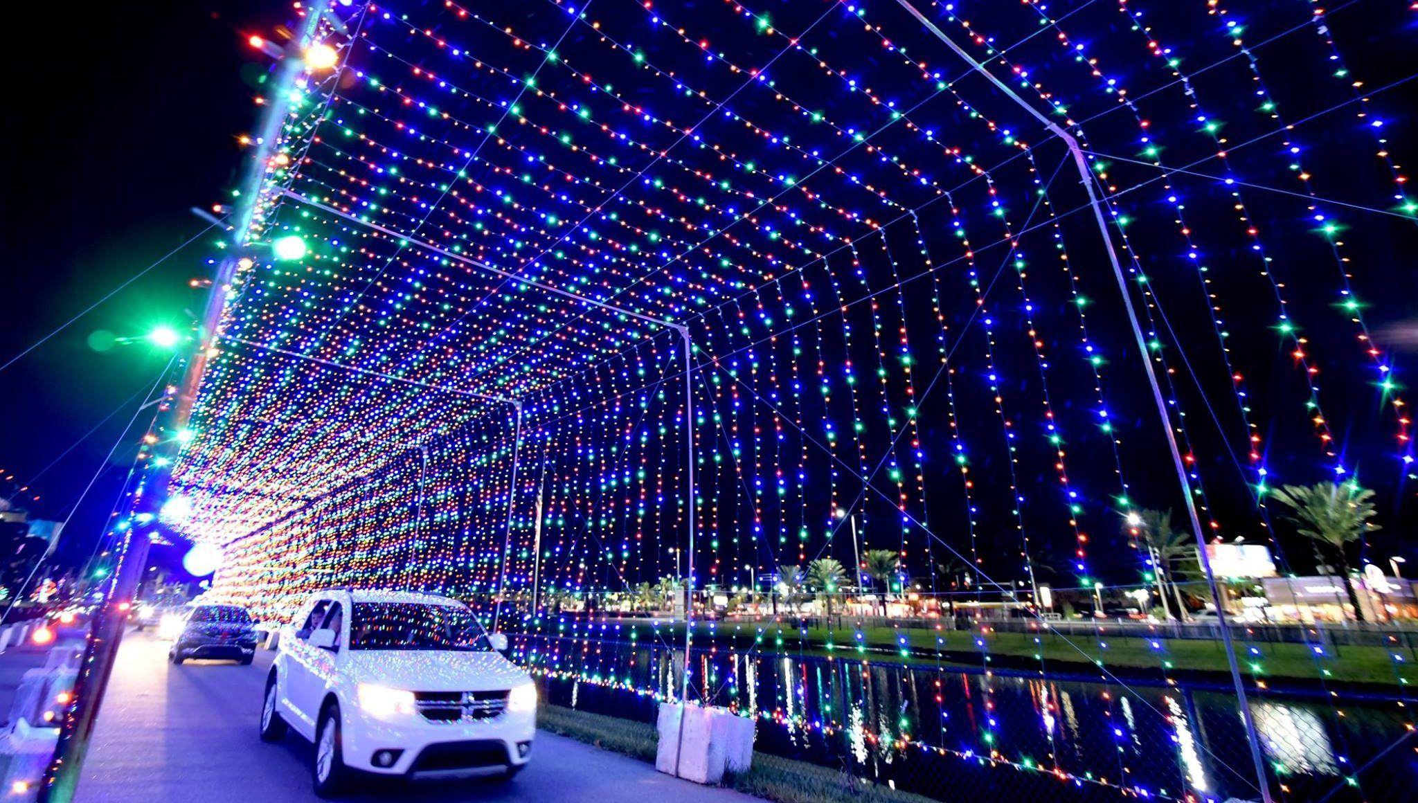 Take A Dreamy Ride Through The Largest DriveThru Light
