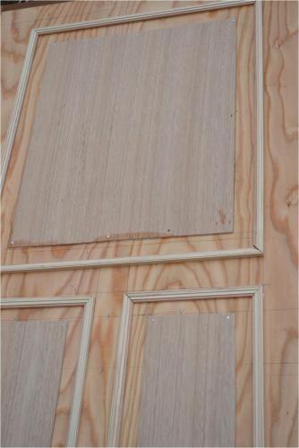 Diy 和室のボロボロドアのリメイク 装飾 Harmony 楽天ブログ ドアモールディング ドアリフォーム 襖 リメイク