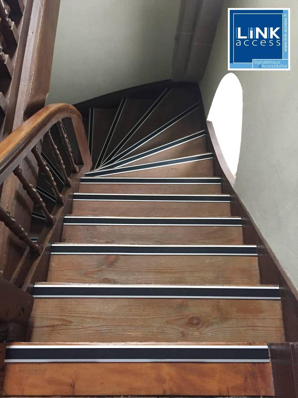 Bordure de nez descalier stratifi/é 8 mm parquet en bois /él/égant Aluminium