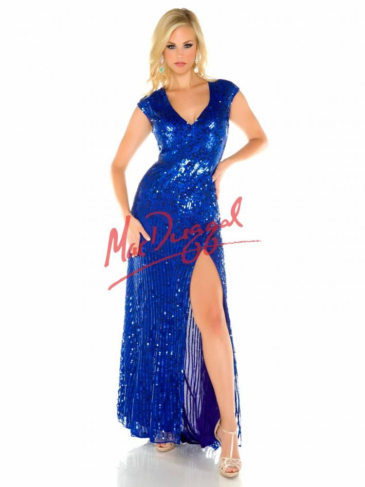 Picture of 2018 blue prom dresses plus size