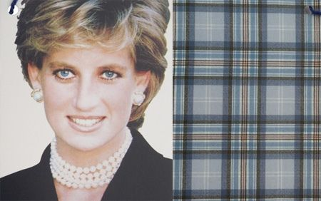 princess-diana-tartan   by ecrameri, via Flickr  A very lovely, soft plaid. This pic does not do it justice. Finding another...