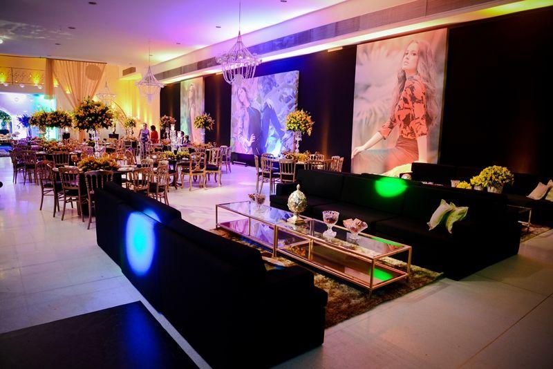 Salão da festa moderna