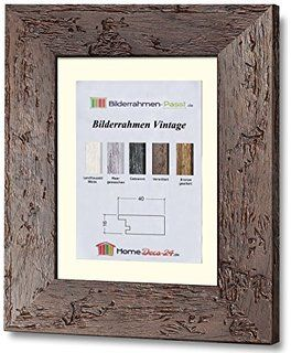 vintage holz bilderrahmen altholz 60x80 cm farbwahl: verwittert, Moderne
