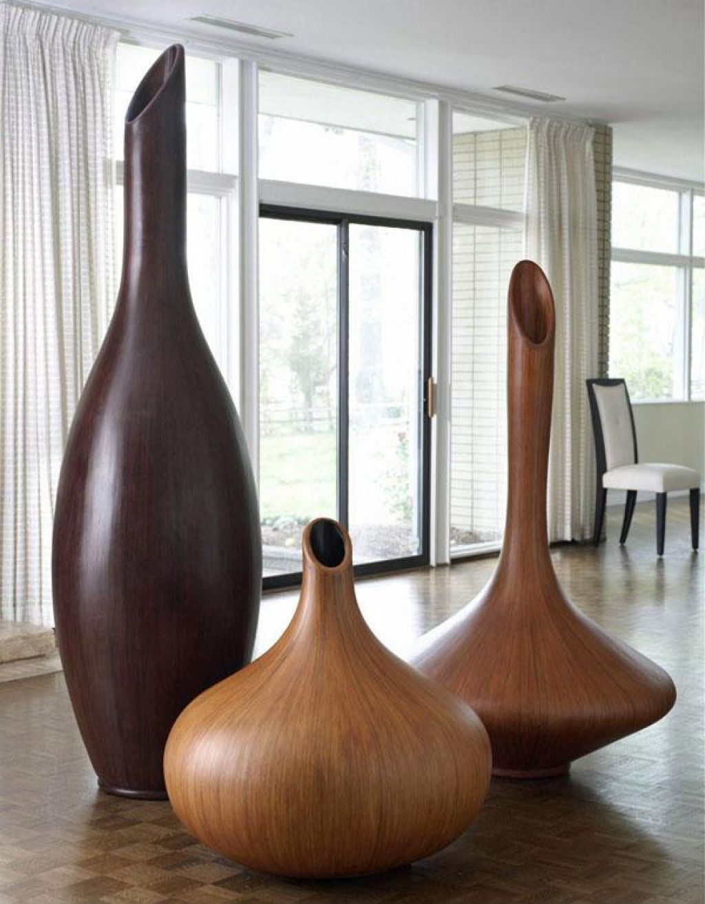 Amazing Tall Decorative Floor Vases Breathtaking Living Room