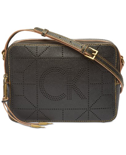 Calvin Klein Shelby Pebble Leather Crossbody 65a7ef3ec36