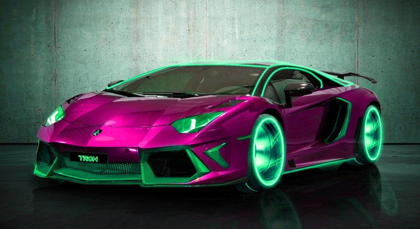 Tron Lambo Awesome With Images Super Fast Cars
