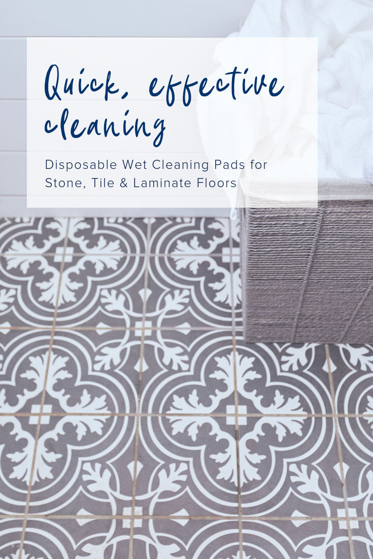 Get A Thorough Clean Quickly With Bona S New Disposable Wet Cleaning Pads Flooring Cleaning Pad