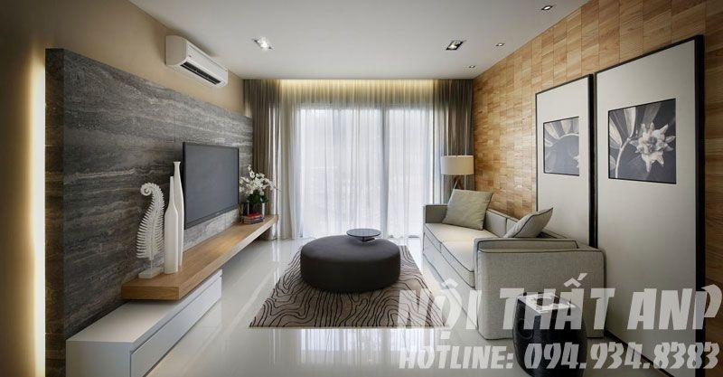 Thiết kế nội thất phòng khách 12m2