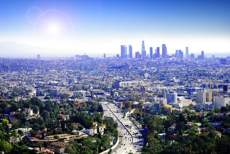 Sunny Los Angeles Another Sunny Day In Los Angeles California As Traffic Drive Affiliate Sunny Los Angeles Los Angeles Real Estate Moving To Los Angeles