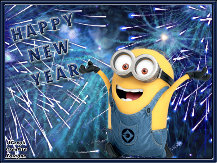Image of: Images Happy New Year Minion Cute Shop Happy New Year Minion Minions u203f Pinterest Minions